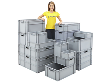 Image result for plastic moving boxes